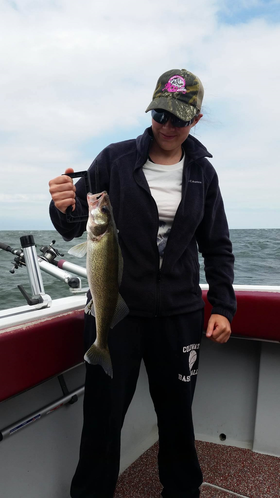 Lake Erie Michigan walleye / perch fishing trips